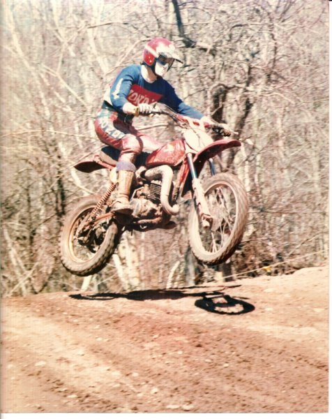 Jeff Conboy - East Jewett, NY 1977 Honda CR250 11 inch travel