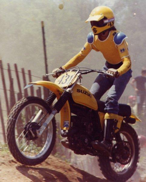 John Nicholas 1977 Ace 1976 RM250